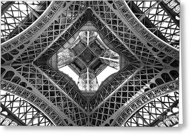 Eiffel Abstract Greeting Card