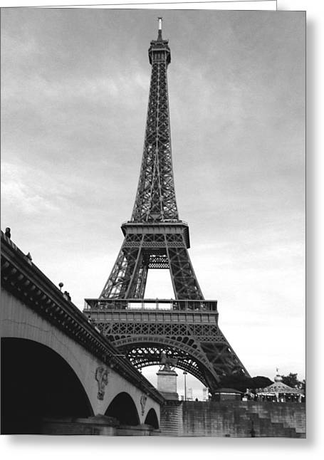 Eiffel Classic Greeting Card
