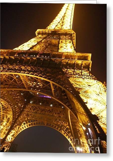 Eiffel Knew How To Build Them Greeting Card by Alexandra Jordankova