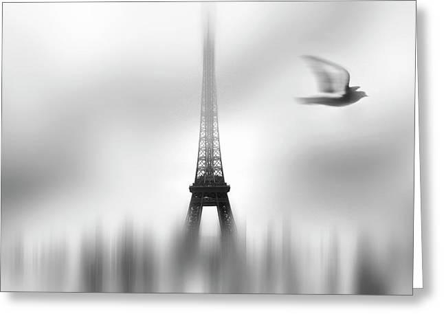 Eiffel Serene Greeting Card