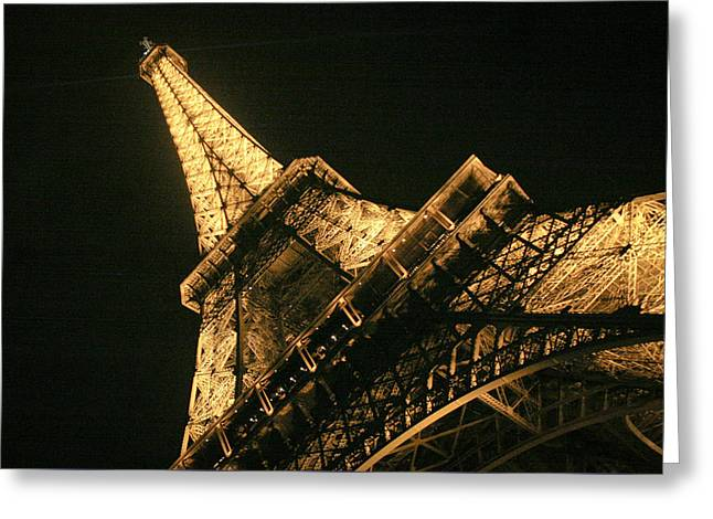 Eiffel Greeting Card by Silvia Bruno