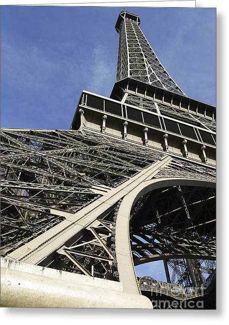 Greeting Card featuring the photograph Eiffel Tower by Belinda Greb