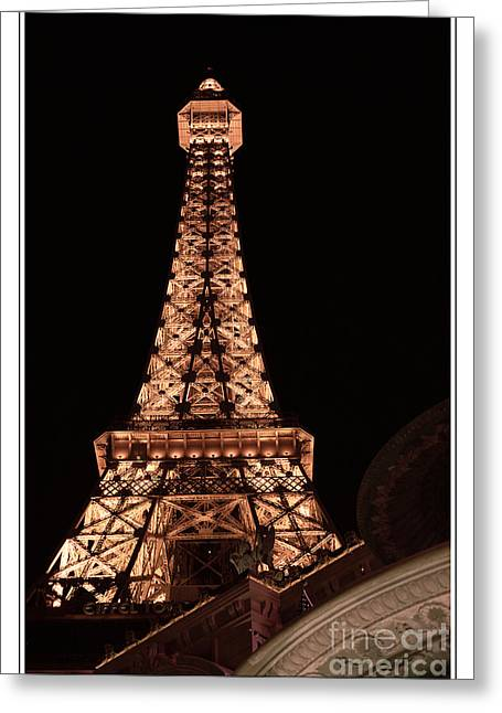 Eiffel Tower Light Up My Dreams Greeting Card