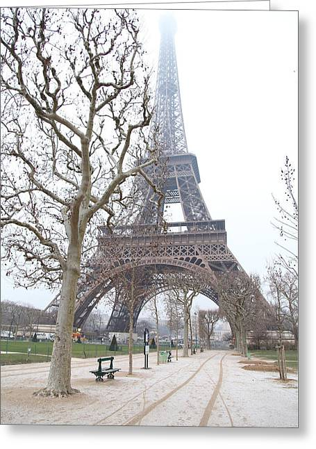 Eiffel Tower - Paris France - 011315 Greeting Card by DC Photographer