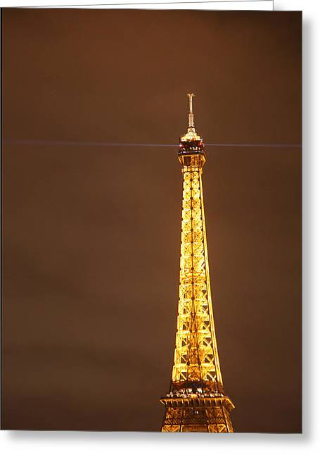 Eiffel Tower - Paris France - 011328 Greeting Card by DC Photographer