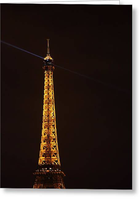 Eiffel Tower - Paris France - 011331 Greeting Card by DC Photographer