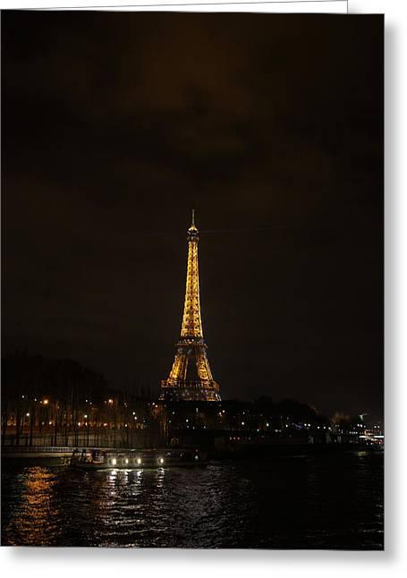 Eiffel Tower - Paris France - 011338 Greeting Card