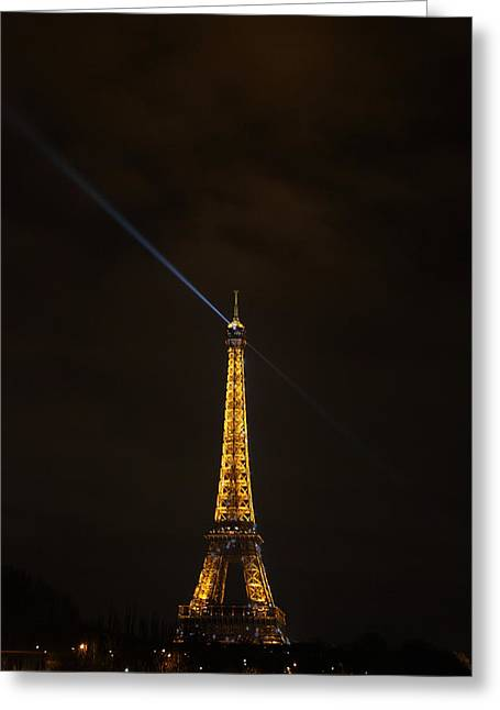 Eiffel Tower - Paris France - 011347 Greeting Card by DC Photographer