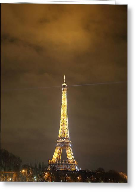 Eiffel Tower - Paris France - 011352 Greeting Card