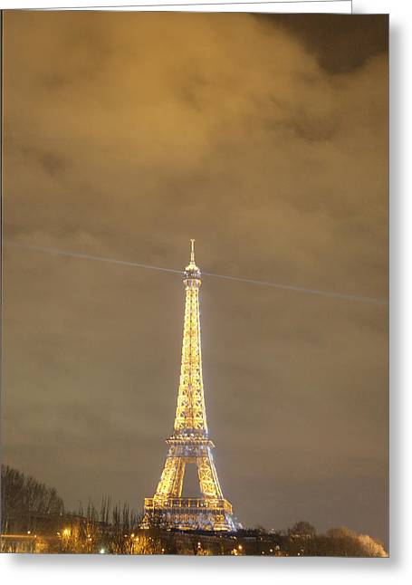 Eiffel Tower - Paris France - 011354 Greeting Card by DC Photographer