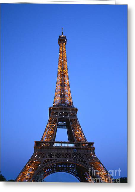 Eiffel Tower - Tour Eiffel Greeting Card