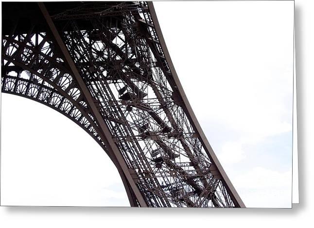 Eiffel Tower.paris Greeting Card by Bernard Jaubert