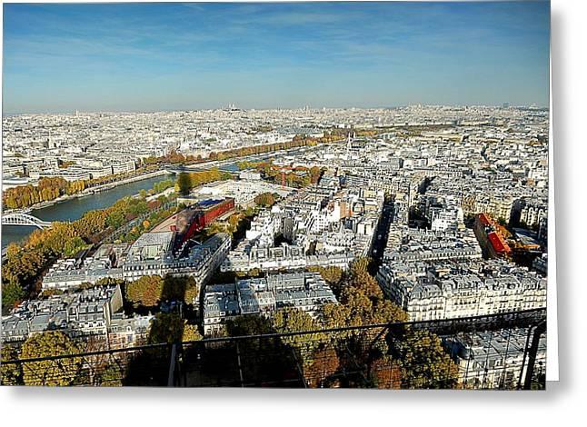 Eiffel02 Greeting Card