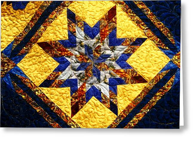 Eight Pointed Star Greeting Card