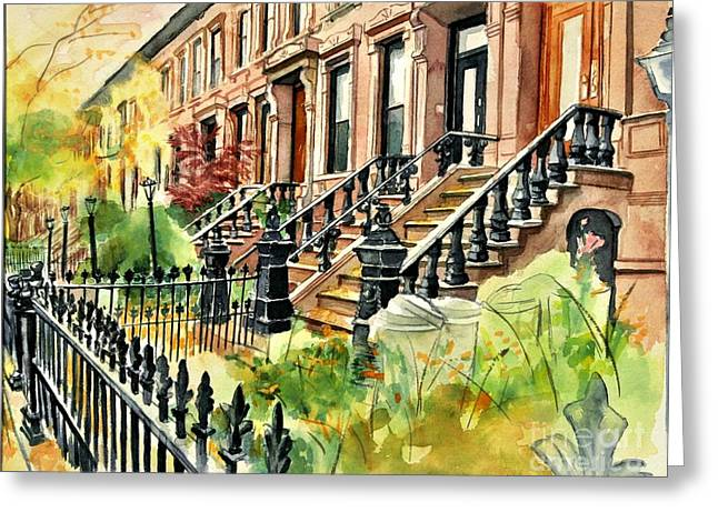 Eighth Street Greeting Card