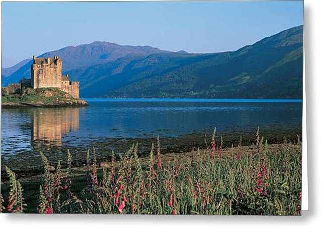 Eilean Donan Castle & Loch Duich Greeting Card by Panoramic Images