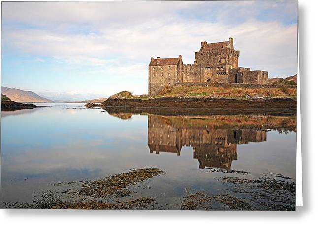 Eilean Donan Castle Greeting Card by Grant Glendinning