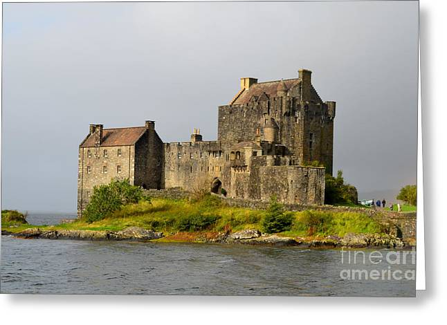 Eilean Donan Castle In Scotland Greeting Card