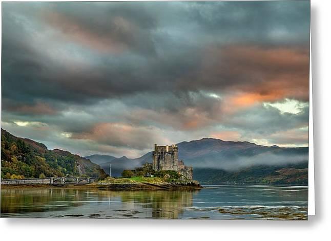 Eilean Donan Castle Greeting Card by Simon Booth