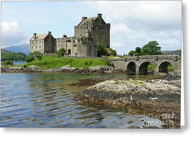 Eilean Donan Castle - Summer Greeting Card