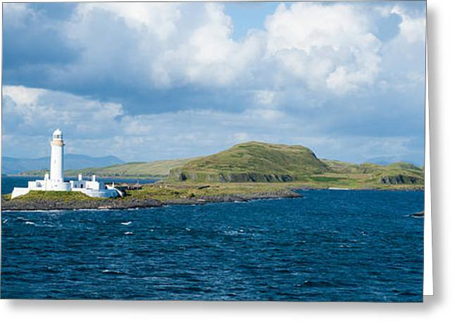 Eilean Musdale Lighthouse Greeting Card