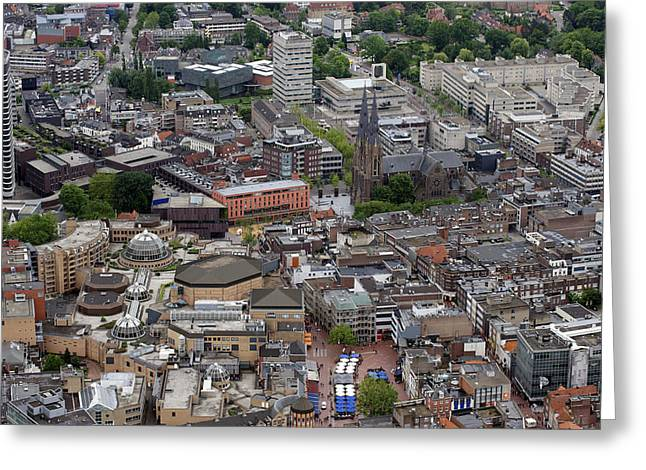 Eindhoven City Center, Eindhoven Greeting Card by Bram van de Biezen