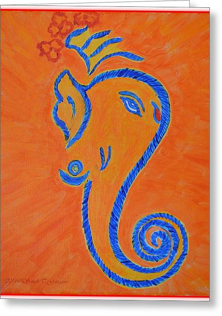 Ekadrishta Greeting Card by Sonali Gangane