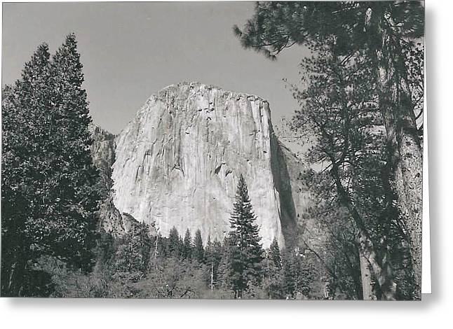 El Capitan Rising Greeting Card