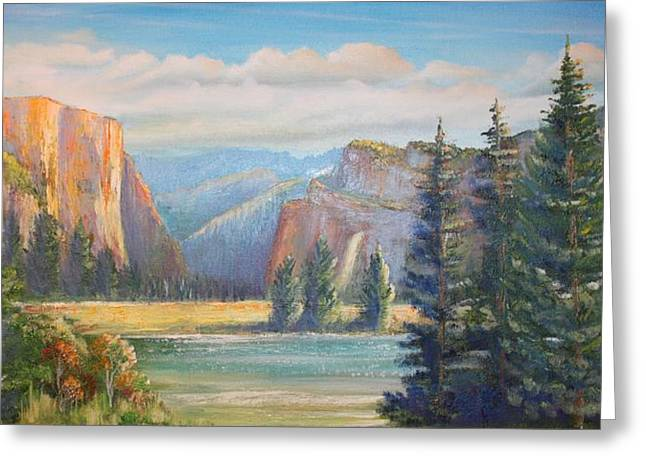 El Capitan  Yosemite National Park Greeting Card