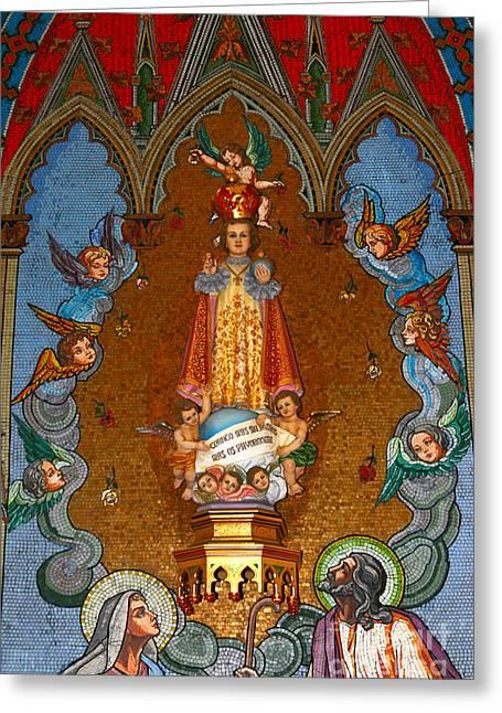 El Carmen Church Panama City Greeting Card by James Brunker