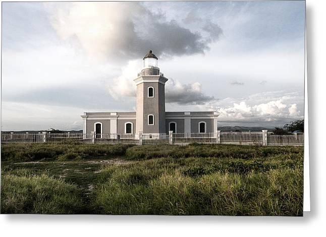 El Faro Greeting Card by Imago Capture