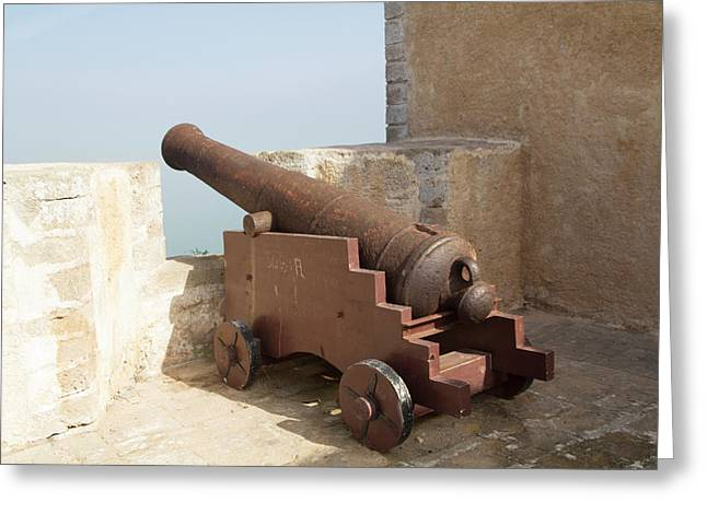 El Jadida Fortress, Morocco Greeting Card by Emily Wilson