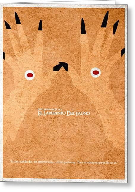 El Laberinto Del Fauno - 2 Greeting Card