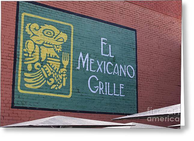 El Mexicano Grille Greeting Card