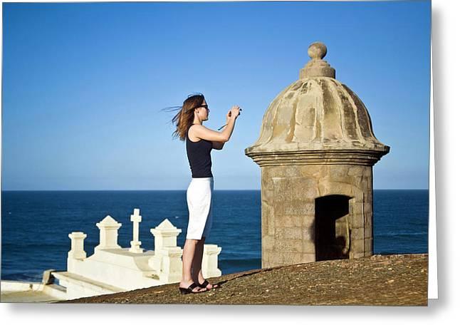 El Morro Fortress And Church Greeting Card