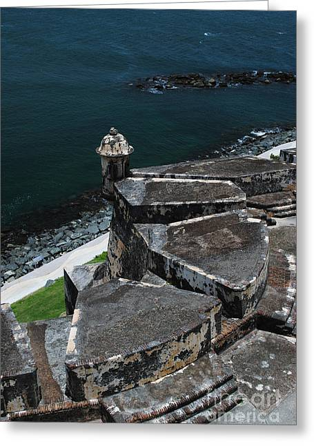 El Morro From Above Greeting Card