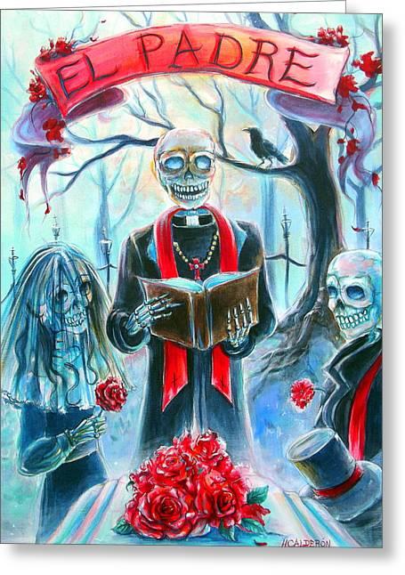 El Padre Greeting Card