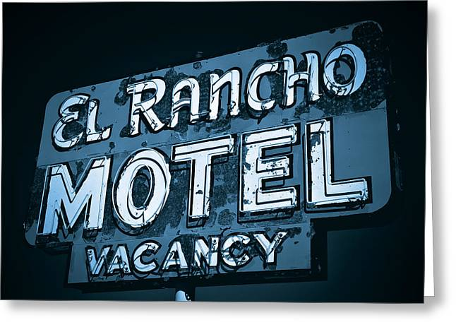 El Rancho Motel Greeting Card