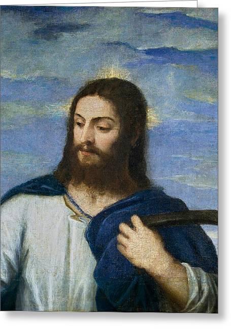El Salvador Greeting Card by Titian