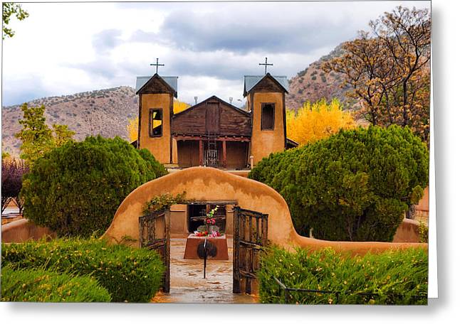 El Santuario De Chimayo Study 4 Greeting Card