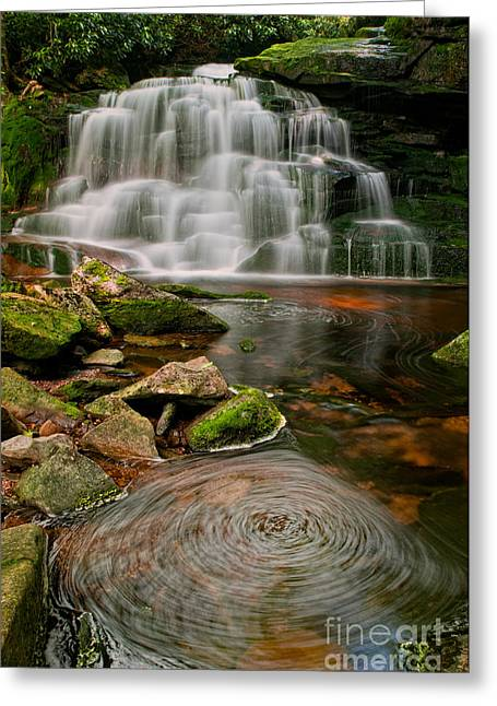 Elakala Falls #2 D30010516 Greeting Card by Kevin Funk