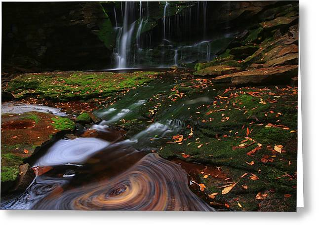 Elakala Falls Greeting Card