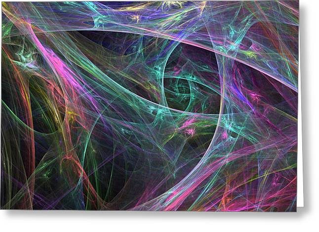 Elasticity-01 Greeting Card by RochVanh