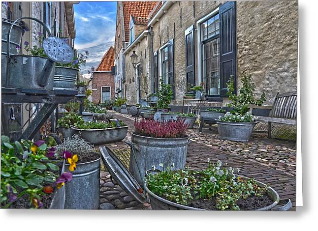 Elburg Alley Greeting Card