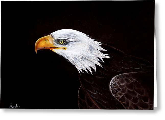 Eleanor The Eagle Greeting Card