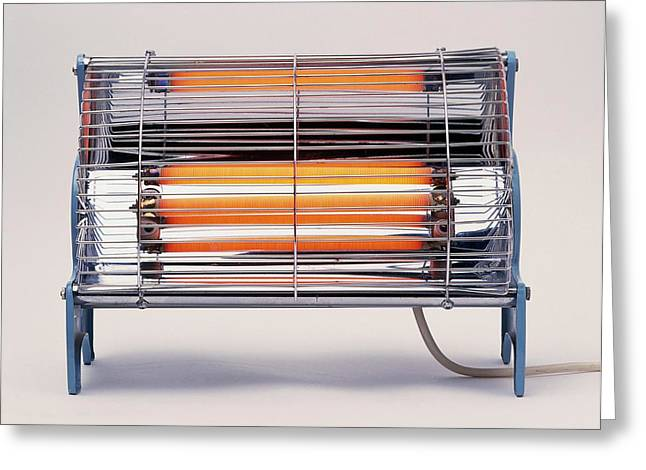 Electric Bar Heater Greeting Card by Dorling Kindersley/uig