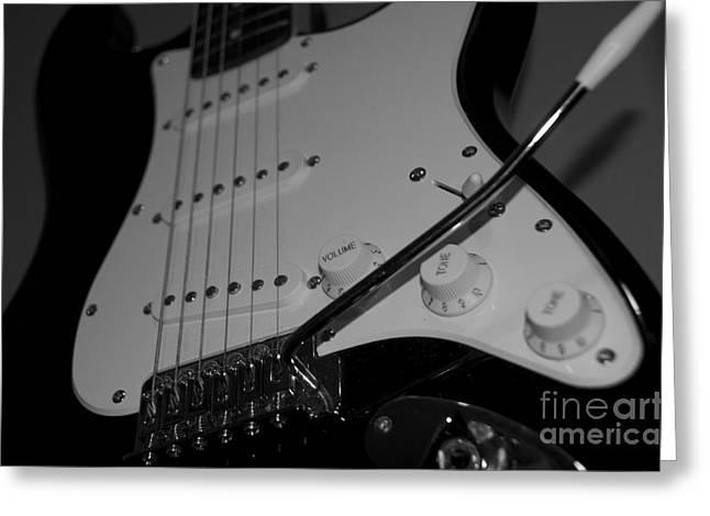 Electric Guitar  Greeting Card