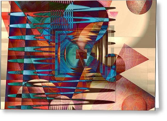 Electric Greeting Card by Iris Gelbart