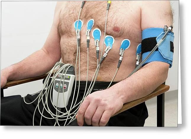 Electrocardiograph (ecg) Greeting Card