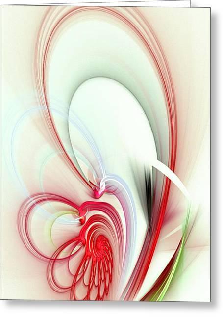 Elegance Greeting Card by Anastasiya Malakhova